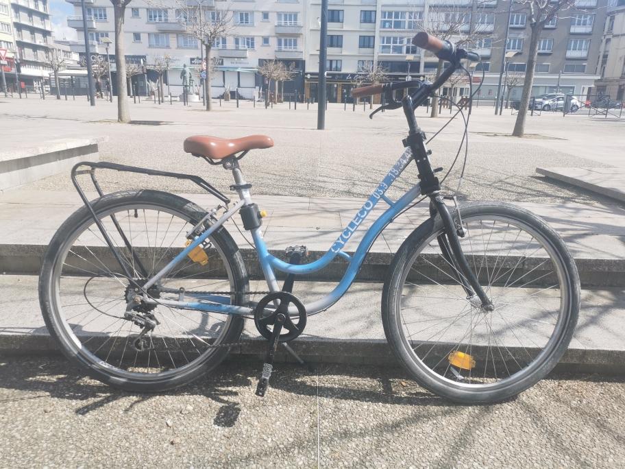 3 vélos de ville